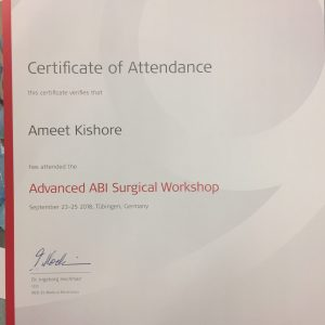 ABI surgical training course 2
